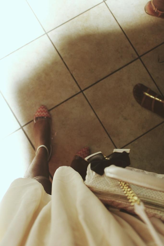 Well, beneath my feet lol