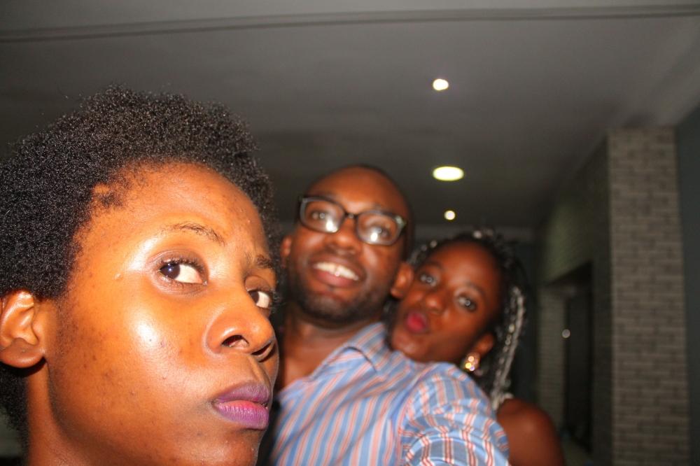 Vikki, Emmanuel and I