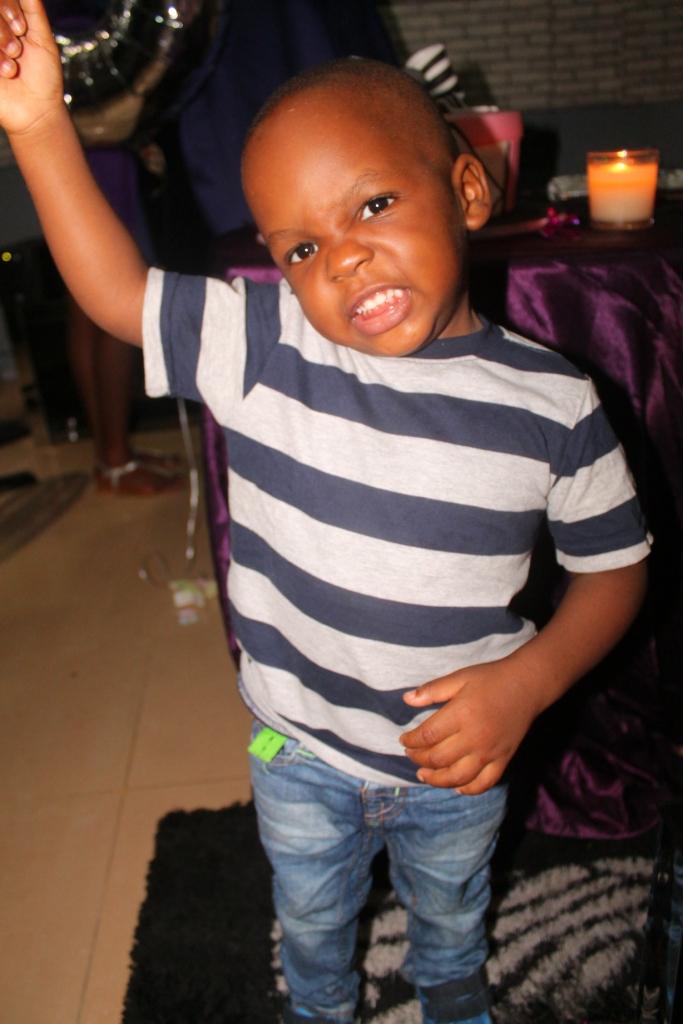 Oti, the celebrant's son
