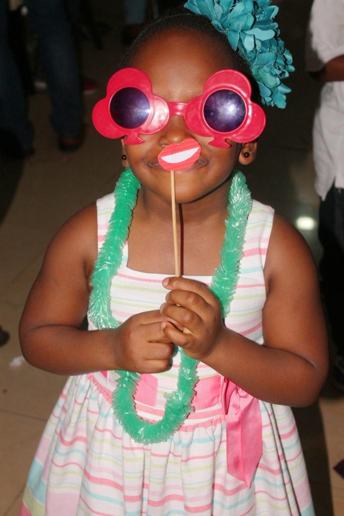 Oluchi, the celebrant's daughter