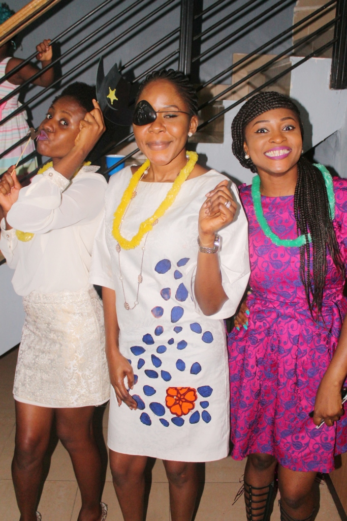 Vikki, Aunty Bimbo and Ezinne