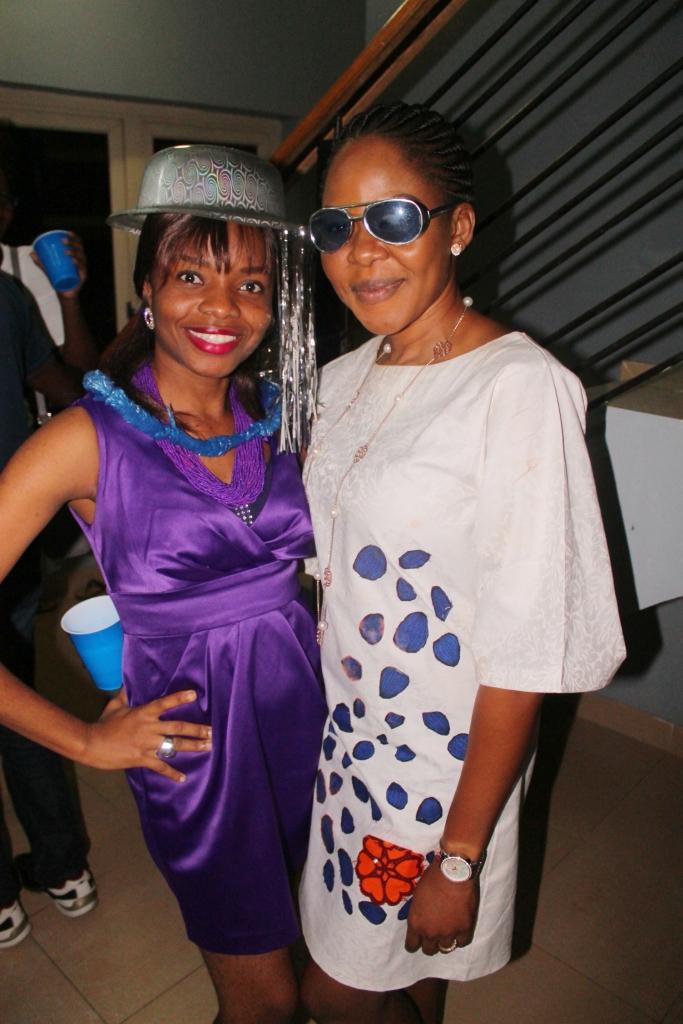 Aunty Bimbo and cousin Blossom