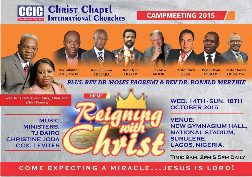 Camp Meeting Flyer